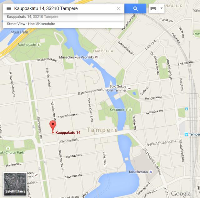 Kauppakatu 14, 33210 Tampere